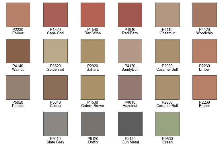 Davis Integral Color Chart