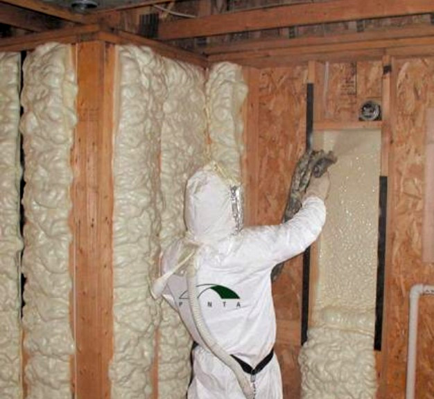 Califon spray foam and batt insulation for Batt insulation r value